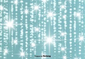Vecteur, résumé, incandescent, étoiles, fond vecteur
