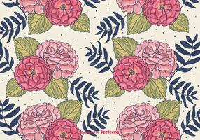 Fond floral à motifs