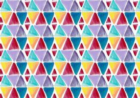 Fond géométrique d'aquarelle vectorielle gratuite