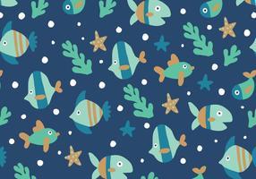 Motif des poissons vecteur