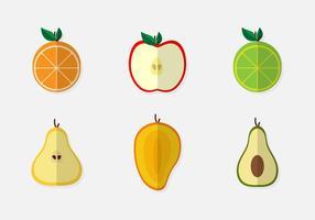 Fruits de la Passion en tranches vecteur