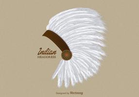 Coiffe Indienne Vectorisée Gratuite
