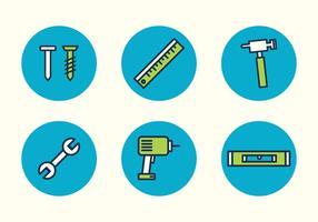 Outils d'icônes vectorielles