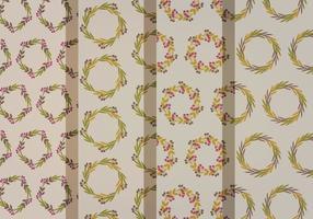 Patterns de couronne d'automne
