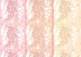 Motifs floraux à motifs vectoriels