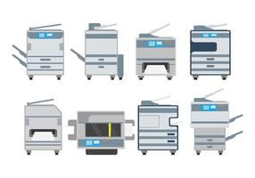 Pack vectoriel de photocopie