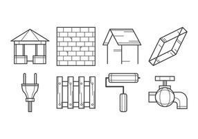 Vecteur d'icône de construction gratuite
