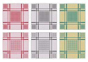 Contexte de Keffiyeh Pattern vecteur
