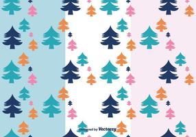 Vector de motif d'arbres