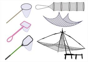 Pêche Net Free Vector