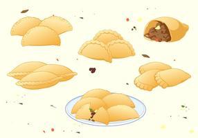 Vecteur gratuit empanadas