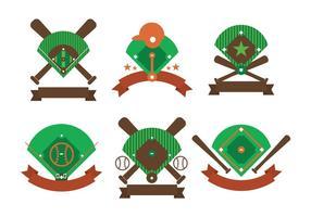 Vecteur diamant de baseball