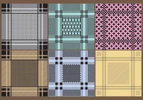 Keffiyeh patterns vecteur
