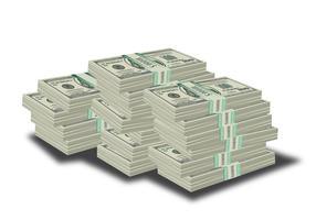 Stock Dollar Dollar vecteur
