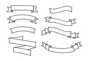 Ensemble de vecteurs de ruban