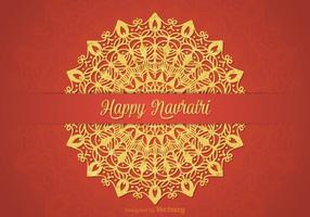 Gratuit Happy Navratri Vector Card