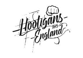 Fond de hooligans gratuit vecteur