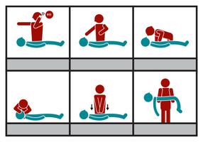 Vecteur gratuit en CPR