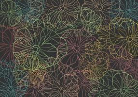 Fond de motif de couleur Pansy vecteur