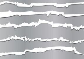 Pistes métalliques à l'aide d'une illustration vectorielle vecteur