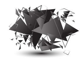 Effet de verre cassé vecteur