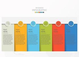 infographie standard et icônes de travail