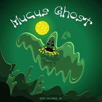 conception de fantôme d'halloween