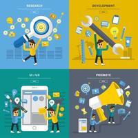 processus d'application mobile