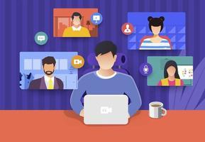 technologie de réunion en ligne