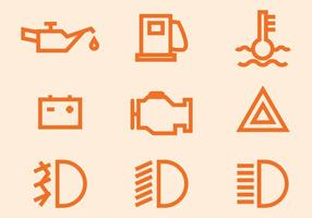 Icône de vecteur auto mobile gratuit