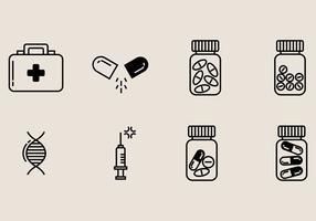 Icône de boîte à pilules