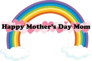 signe de la fête des mères heureux