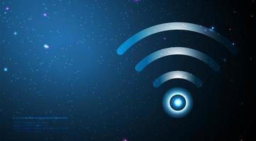 symbole de réseau sans fil vecteur