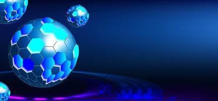 globe de technologie numérique vecteur