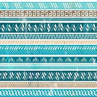 motif bleu tribal