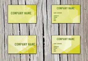Vecteur namecard