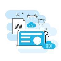 conception de concept de programmation et de codage