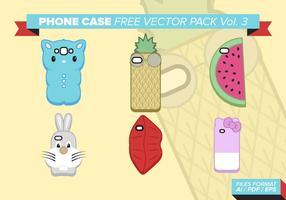 Case téléphonique Free Vector Pack Vol. 3