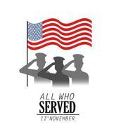 conception de célébration des anciens combattants et du jour du souvenir
