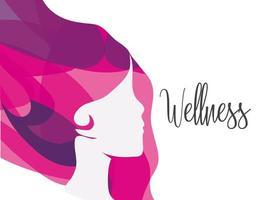 conception de femme de bien-être