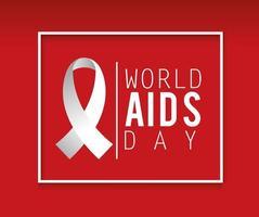bannière de prévention de la journée mondiale du sida