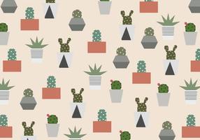 Motif de cactus vecteur