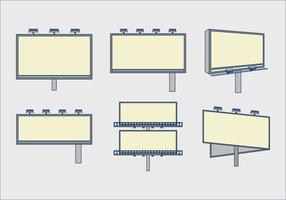 Modèle d'inventaire modèle de pack vectoriel design plat