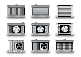 Illustration vectorielle de radiateur vecteur