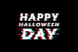 conception de typographie joyeux halloween pépin vecteur