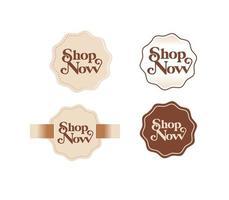 boutique classique maintenant modèles de badges