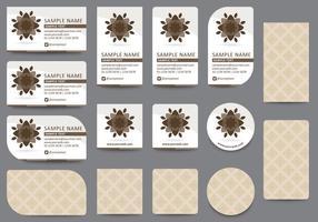 Brown Card Templates