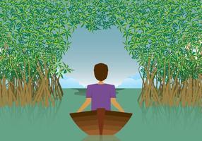 Illustration Mangrove Gratuite vecteur