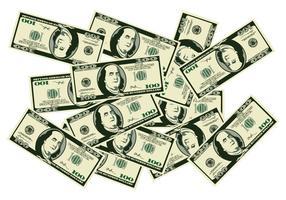 Une pile d'argent vecteur