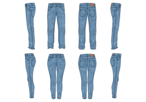 Vecteur blue jeans